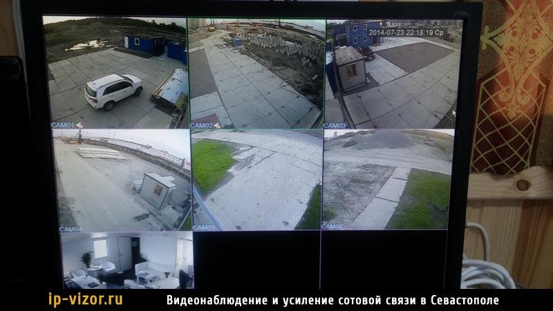 Камеры видеонаблюдения уличные