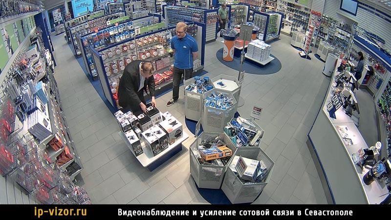 Фото с камеры видеонаблюдения