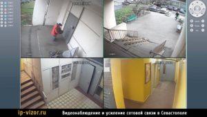 Пример видеонаблюдения в подъезде многоквартирного дома