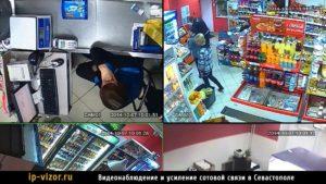 Камера скрытого видеонаблюдения в магазине