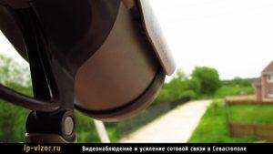 Камеры наружного видеонаблюдения в частом доме
