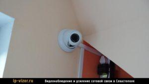 Установка камеры системы видеонаблюдения в квартире